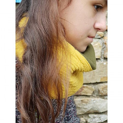 Snood moutarde louise