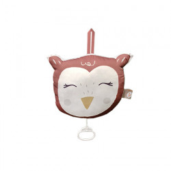 Coussin musical Hibou