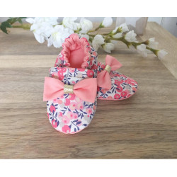 CHAUSSONS EN LIBERTY FILLE,...
