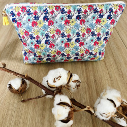 Trousse Liberty Flowers