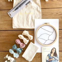 Kit DIY Punch Needle Paysage