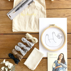 Kit DIY Punch Needle Paresseux