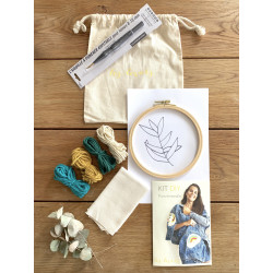 Kit DIY Punch Needle Feuilles