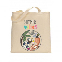 Tote bag Renard Summer -...