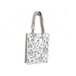 Tote-bag ' A colorier ' -...