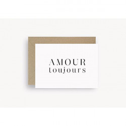 Carte Amour toujours