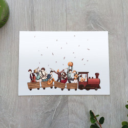 carte petit train
