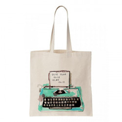 Tote Bag 'Machine é ̩crire'