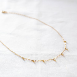 Collier LOU gold filled ras...