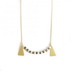 Collier chic perles de...