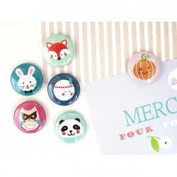 Magnet kawaii 25 mm A...