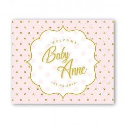 Poster baby pink