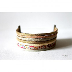 Bracelet Multi rangs liberty