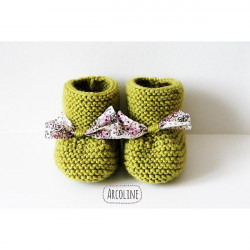 Chaussons naissance 3 mois...