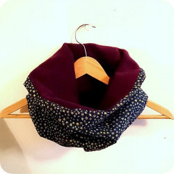 Snood large purple